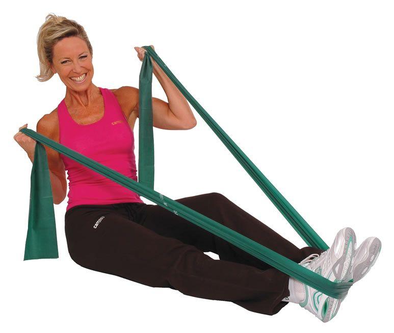 Faixa elastica para fisioterapia ejercicios