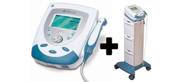 Ultrasonido portátil para fisioterapia